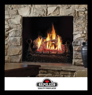 Vented Gas Logs – Hearth & Patio Sales and Service